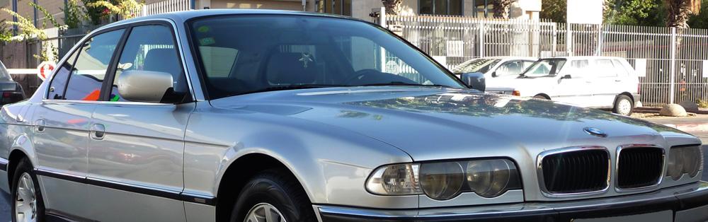 BMW 728i E38 street
